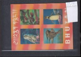 Bhutan (BBK) Michel Cat.No. Mnh/** Sheet 29 Birds - Bhoutan