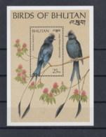 Bhutan (BBK) Michel Cat.No. Mnh/** Sheet 222 Bird - Bhután