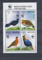 Bhutan (BBK) Michel Cat.No. Mnh/** Sheet 469 Bird - Bhután