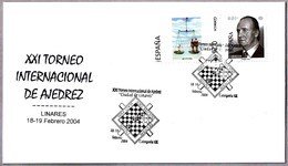 """XXI TORNEO INT. DE AJEDREZ """"CIUDAD DE LINARES"""" - CHESS. Linares, Andalucia, 2004 - Ajedrez"""
