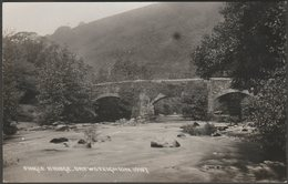 Fingle Bridge, Drewsteignton, Devon, C.1930 - Chapman RP Postcard - England