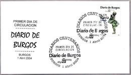 Periodico - Newspaper - Journal - DIARIO DE BURGOS. SPD/FDC Burgos 2004 - Otros