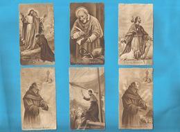 Lotto 6 Santini Serie Eb Seppia Fustellati Santi Vari Nr. 437,318,437,460,195,424 #Santino #Collezionismo - Religion & Esotericism