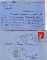 VP13.500 - SAINT MAUR DES FOSSES 1935 - Lettre De Mr Robert BOUTROUX Des Jeunesses Patriotes De France - Historische Documenten