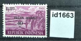 Id1663 Landwirtschaftliche Produkte, Agricultural Products, Irian, ID 1963 ** - Indonesien