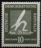 """DDR RDA ALLEMAGNE DEMOCRATIQUE 344 ** Constante De Planck : """"h"""" Quantum D'action - [6] République Démocratique"""
