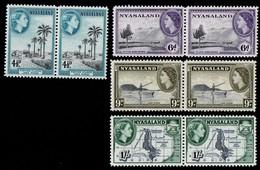 Nyasaland. 1953 Queen Elizabeth II. MNH - Nyassaland (1907-1953)