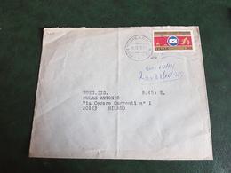 (6651) ITALIA STORIA POSTALE 1969 - 1961-70: Storia Postale