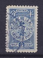 China Chine Portomarke 1904 Mi. 7    ½ C. Postage Due Imperial Post - Chine