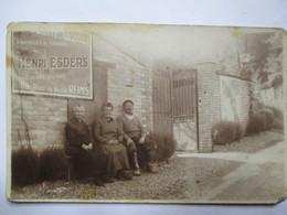 Verzy (51) - Carte Photo Famille Feneuille, Vignerons, Route De Louvois - Voir Etat - Verzy