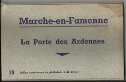MARCHE-en-FAMENNE - La Porte Des Ardennes - Pochette De Dix Cartes Postales - Marche-en-Famenne