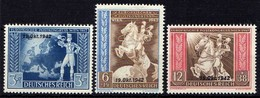 Deutsches Reich, 1942, Mi 823-825 * [011218IX] - Alemania