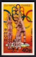 North Korea / Olympic Games Montreal 1976 / Basketball / 3D / MNH - Summer 1976: Montreal