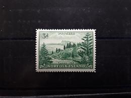 NORFOLK Island , 1959  Serie Courante , Yvert  No 23, 3 P Vert , Neuf ** MNH , TTB Cote 30 Euros - Ile Norfolk