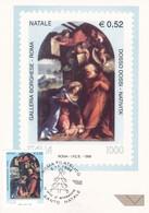 SANTO NATALE GALLERIA BORGHESE ROMA DOSSO DOSSI NATIVITA' 1999 - Maximum Cards