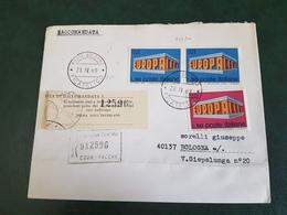 (6685) ITALIA STORIA POSTALE 1969 - 1961-70: Storia Postale
