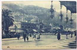 LE CAFÉ DE PARIS - VUE PRISE DE L'ENTRÉE DU CASINO - MONTE-CARLO - Monte-Carlo