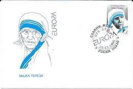 Macedonia / Repubblica Di Macedonia - FDC - Madre Teresa Di Calcutta / Saint Teresa Of Calcutta / Mother Teresa / Europa - Macedonia