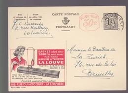 PUBLIBEL N° 1496 - Stamped Stationery