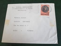 (6689) ITALIA STORIA POSTALE 1969 - 1961-70: Storia Postale