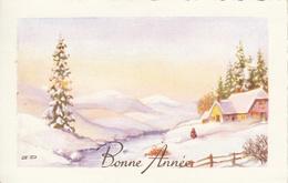 Thematiques Voeux Bonne Année Paysage Ruisseau - New Year