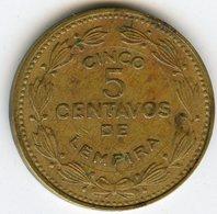 Honduras 5 Centavos 1975 KM 72.2a - Honduras
