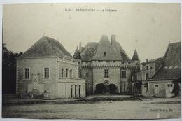 LE CHÂTEAU - BARBEZIEUX - Francia
