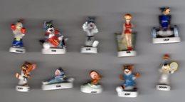 Série Complète 10 Fèves Brillantes TOM & JERRY ET LEURS AMIS Alcara 2005/2006 - Cartoons