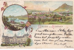 300633Gruss Aus Honnef Litho 17-04-1897 - Allemagne