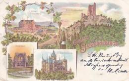 300637Gruss Aus Dem Siebengebirge Litho 25-09-1900 (sehe Ecken) - Koenigswinter