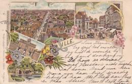 300641Lille, Litho 05-07-1897 (très Bon état) - Lille