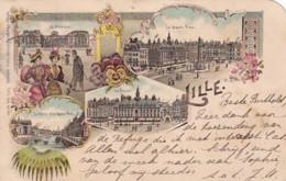 300642Lille , Litho 05-07-1897 (trou D'épingle, Tache, Coin Sup. Droite Coupée) - Lille