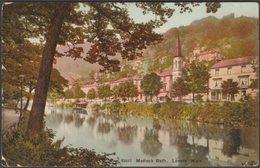 Lovers' Walk, Matlock Bath, Derbyshire, 1922 - Photochrom Postcard - Derbyshire