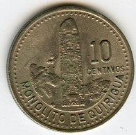 Guatemala 10 Centavos 1991 KM 277.5 - Guatemala