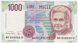 Italy P 114 C - 1000 1.000 Lire 3.10.1990 - VF - [ 2] 1946-… : République
