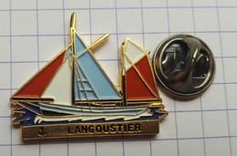 Pins Logo Badge Bateau Langoustier - Rugby
