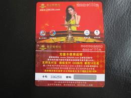 Macao Online Casino Card, - Cartes De Casino
