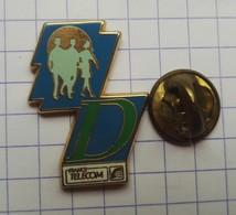 Pins Logo Badge France Télécom  Arthus Bertrand EGF - Arthus Bertrand