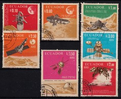 ECUADOR - MOOI - 1966 -  LOTJE Space Expo Of The Moon - Gestempeld/oblit./gebraucht/used ° - Equateur