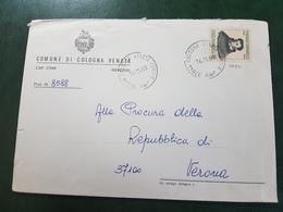 (6749) ITALIA STORIA POSTALE 1969 - 1961-70: Marcophilia