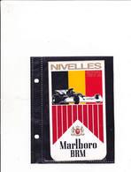 Sticker Marlboro - Nivelles 1972 - Car Racing - F1