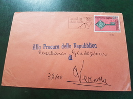 (6750) ITALIA STORIA POSTALE 1969 - 6. 1946-.. Repubblica