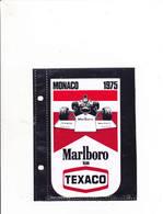 Sticker Marlboro - Monaco 1975 - Automobile - F1