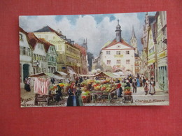 Tuck Series  Signed Artist    Germany > Bavaria > Bad Kissingen     Ref 3087 - Bad Kissingen