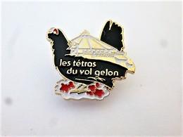 PINS SPORT PARAPENTE LES VOLATILES POULE LES TETRAS DU VOL GELON CHARENTE LA ROCHELLE  / 33NAT - Paracadutismo