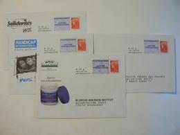 Prêt à Poster Réponse, POSTREPONSE  20g, Lettre Prioritaire, Beaujard, 4 Enveloppes Neuves, TB. - Prêts-à-poster: Réponse /Beaujard
