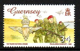 GUERNESEY. N°1080 De 2006. Guerre Des Malouines. - Militares