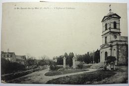 L'ÉGLISE ET L'ABBAYE - St JACUT DE LA MER - Saint-Jacut-de-la-Mer