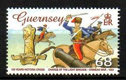 GUERNESEY. N°1084 De 2006. Chevaux. - Caballos
