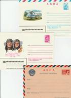 USSR /  Air Mail Stationery Unused Postcard / Aerogramme - 1923-1991 URSS